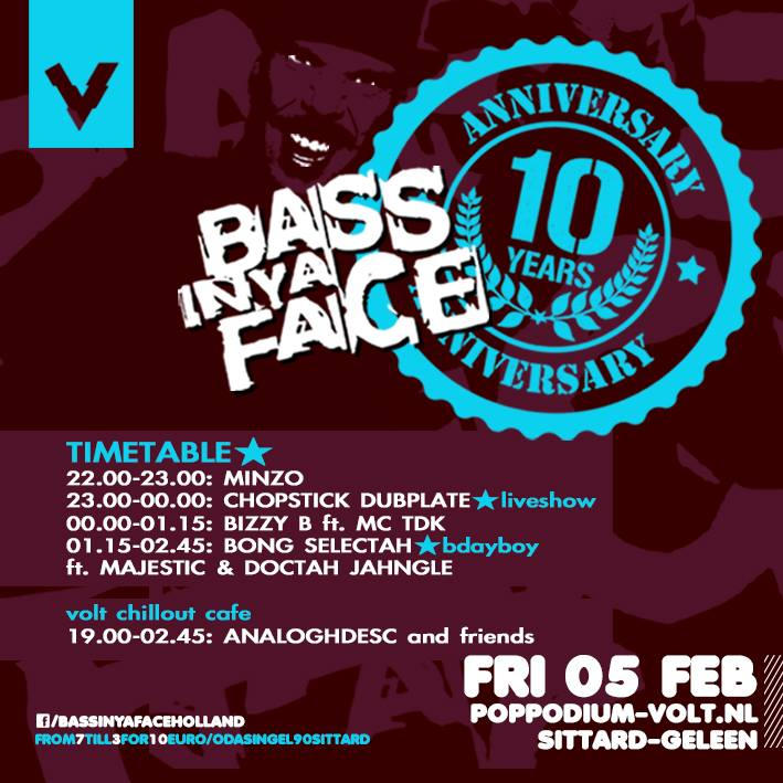 FLYER BASS IN YOUR FACE
